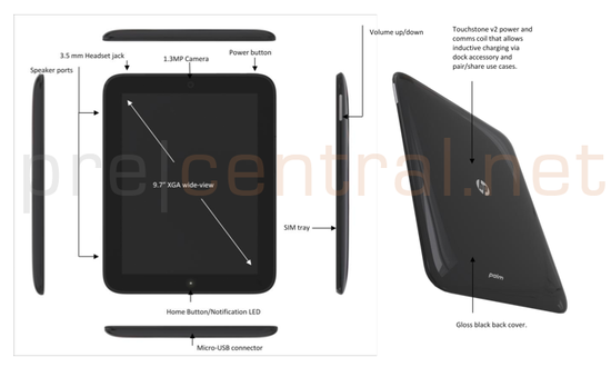 Awe Inspiring 10 Zoll Webos Tablet Heisst Hp Palm Touchpad Tablet Blog Download Free Architecture Designs Rallybritishbridgeorg