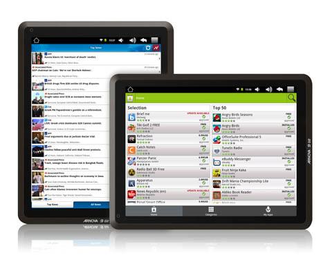 archos arnova 9 g2 tablet mit 9 7 zoll display vorgestellt. Black Bedroom Furniture Sets. Home Design Ideas
