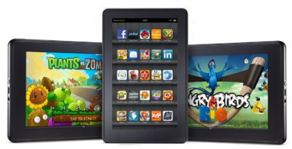 Amazon Kindle Fire Marktanteil