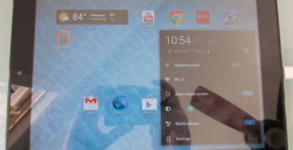 HP TouchPad mit Android 4.1 Jelly Bean