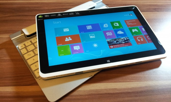 Acer Iconia Tab W510