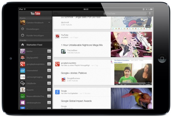 Download the official YouTube app free for iOS devices