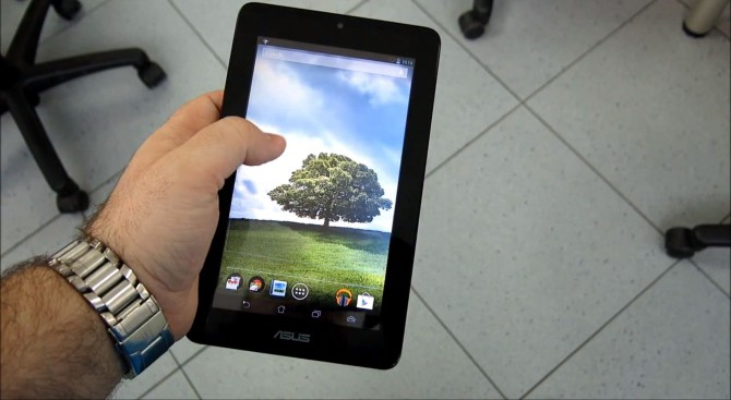 ASUS MeMo Pad Hands On