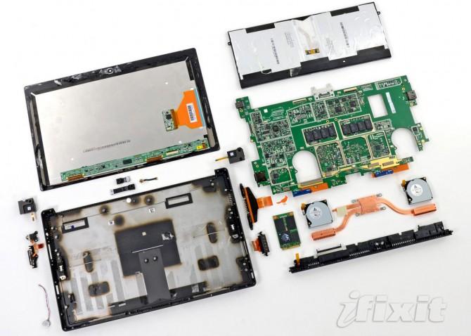 Microsoft Surface Pro Einzelteile