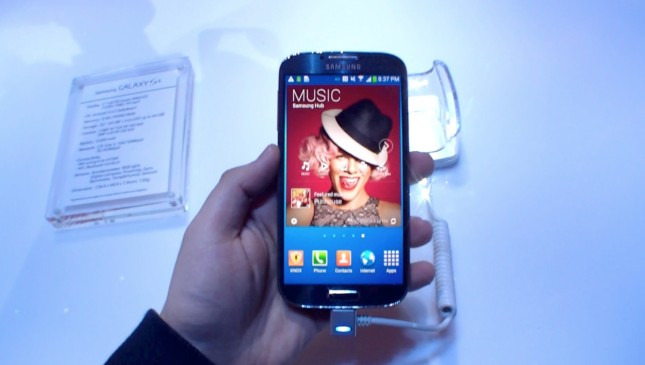 Samsung Galaxy S4 Kurztest