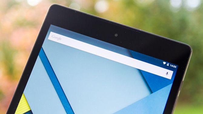 Google Nexus 9 draußen