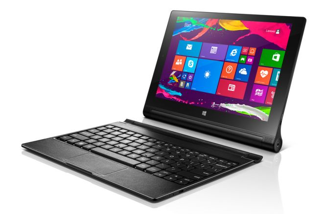 lenovo yoga tablet 2 mit windows tastatur cover f r 399. Black Bedroom Furniture Sets. Home Design Ideas