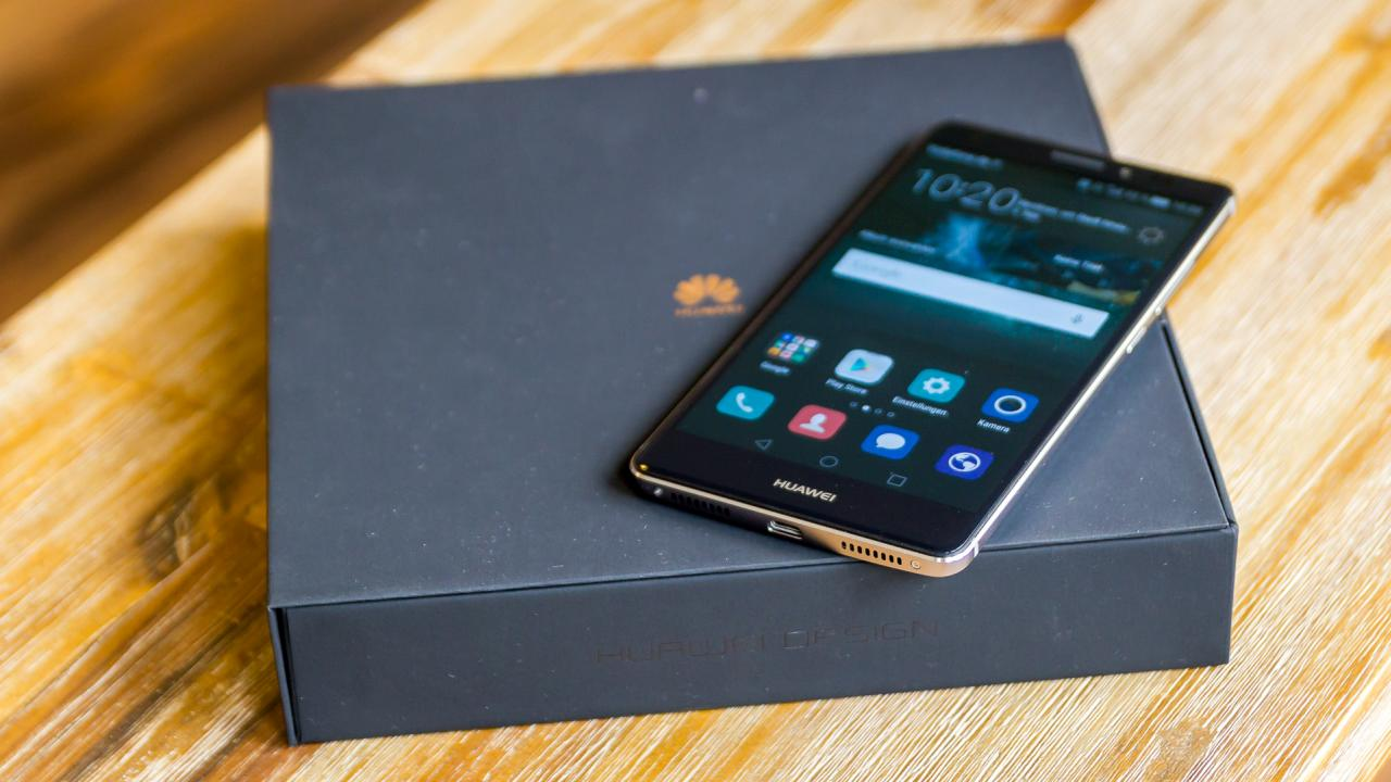 Huawei Mate S Test: Mein erster Eindruck + Unboxing-Video