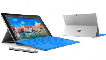 Surface Pro 4 mit Type Cover