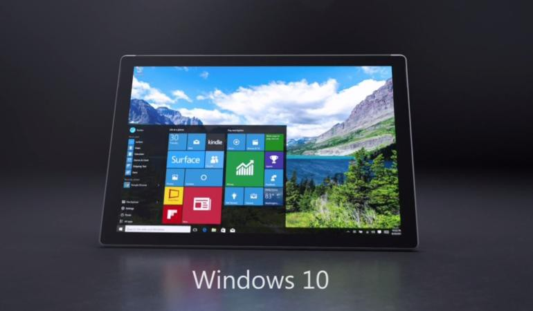 Microsoft Surface Pro 4 mit Windows 10