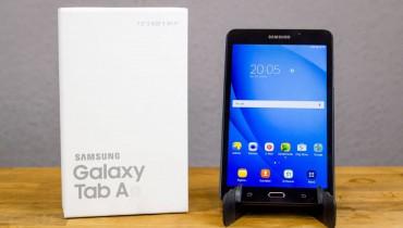 Samsung Galaxy Tab A 7.0 ausgepackt