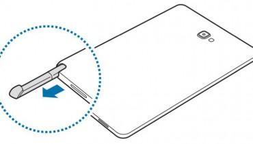 Galaxy Tab A mit Stylus