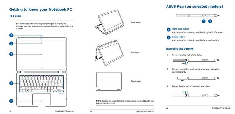 ASUS ZenBook Flip UX370 Leak Stift