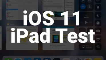iOS 11 iPad Test