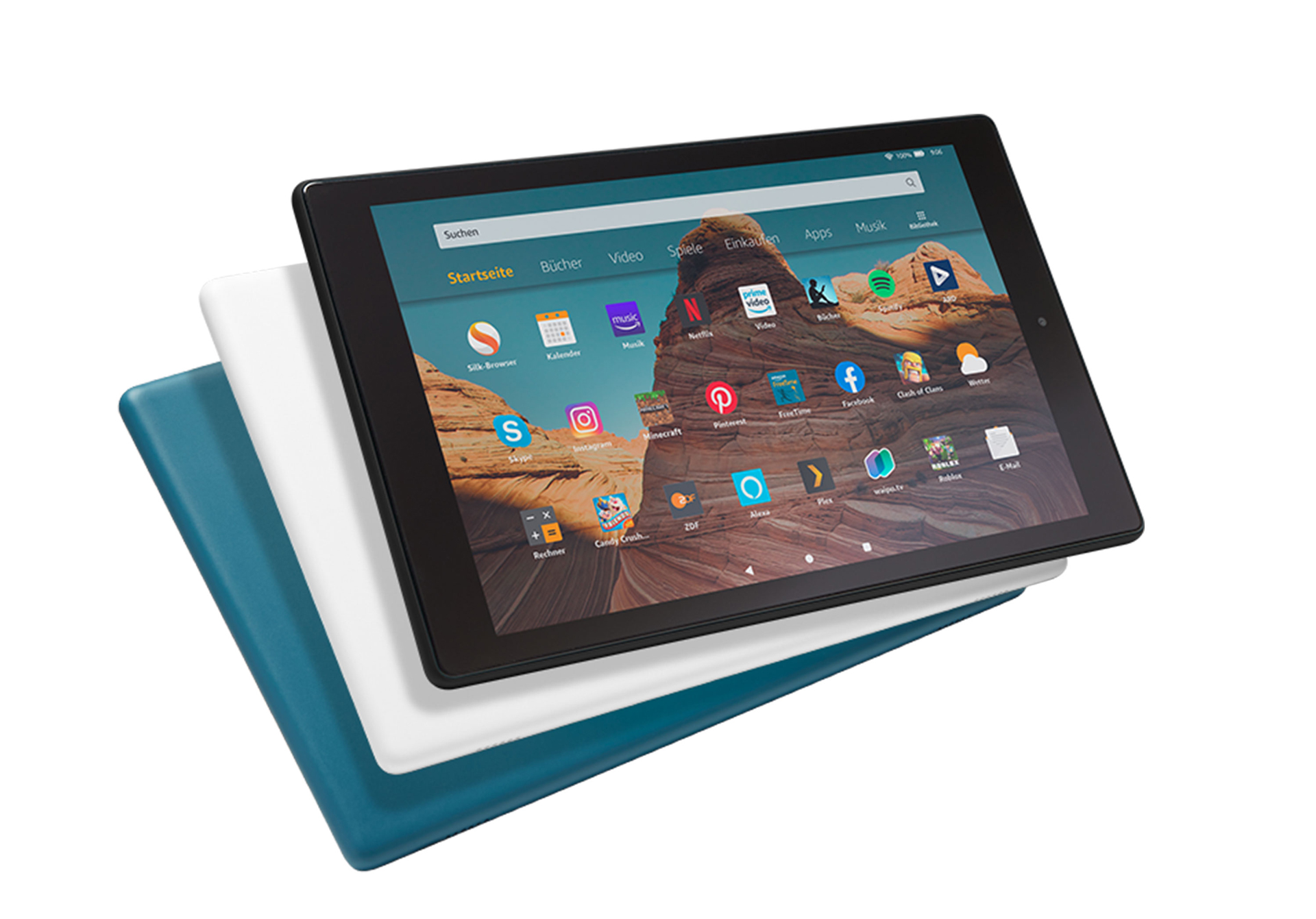 Amazon Fire HD 10 2019 Farben
