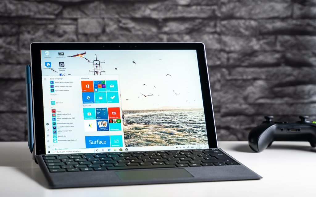 Microsoft Surface Pro 7 Test