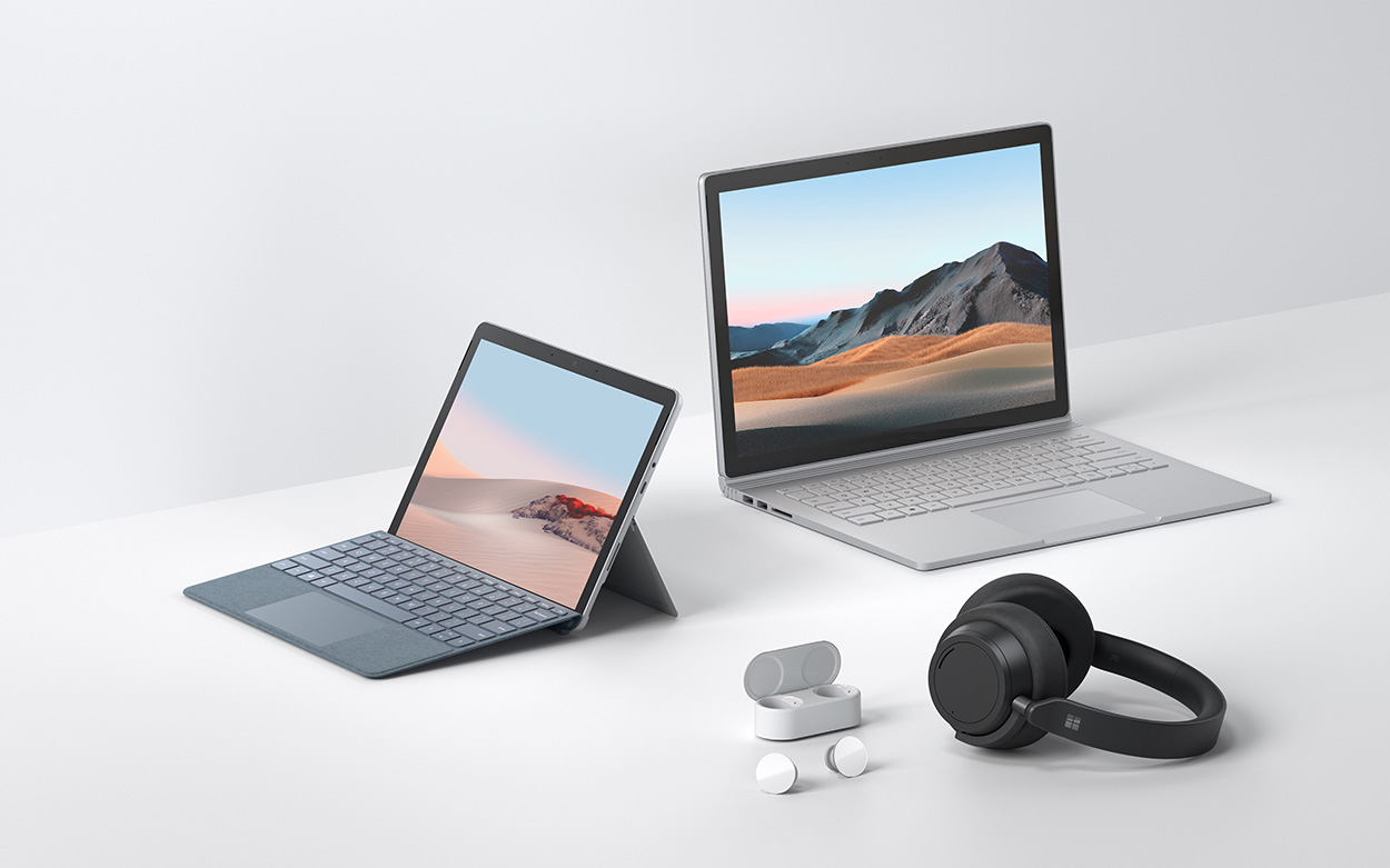 Surface Go 2 und Surface Book 3